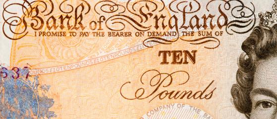 Ten British Pounds