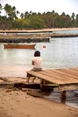 Fishing village of Boqueron in Puerto Rico