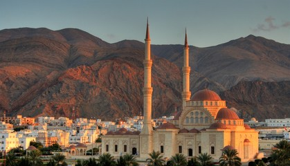 Photo sur Aluminium Moyen-Orient Sultanate of Oman - Mosque