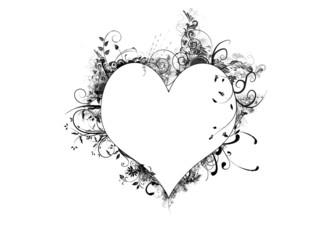 Heart Frame Floral