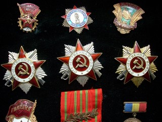 Soviet silver and golden orders