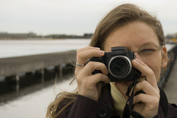 Taking photography