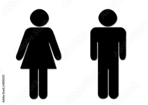 Simbolo Hombre Mujer Stock Photo And Royalty Free Images On Fotolia