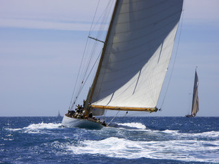 Regatta klassischer Yachten