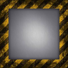 Hazard Stripes Frame