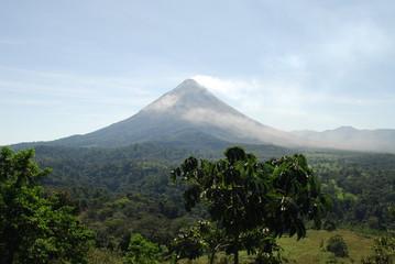 Blick auf den Vulkan Arenal