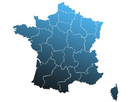 Carte France Abyss
