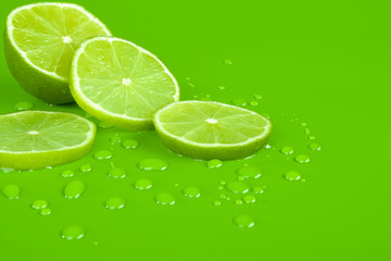 Lime and drop
