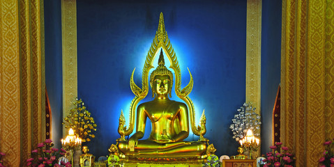 Thailand Bangkok the Marble Temple