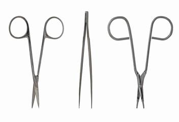 Scissors and Tweezers