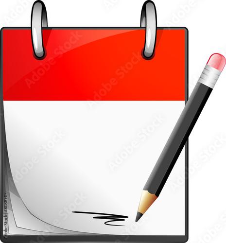 Icone bloc note fichier vectoriel libre de droits sur la - Telecharger un bloc note pour le bureau ...