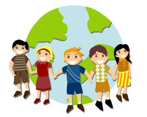 Children around Globe