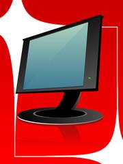 flat monitor