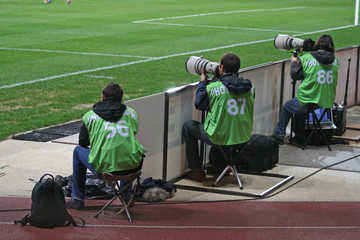 Photographes sportifs