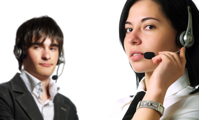 Attractive call center operators