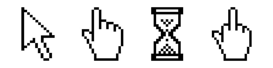 mauszeiger symbole