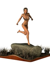 desert nymph diorama 1