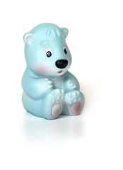голубой медведь