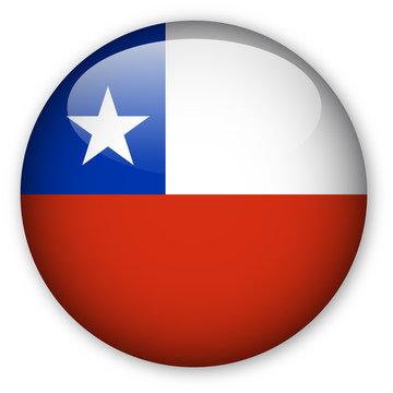 Chilean Flag button