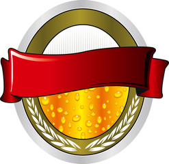 beer cold label