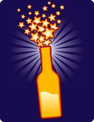 bottle stars