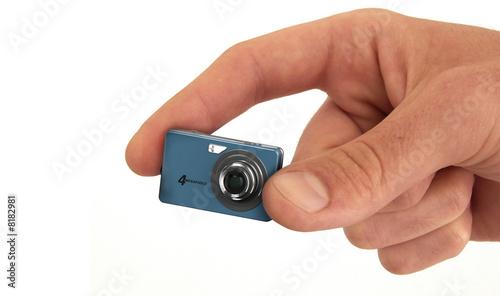 appareil photo num rique miniature photo libre de droits sur la banque d 39 images. Black Bedroom Furniture Sets. Home Design Ideas