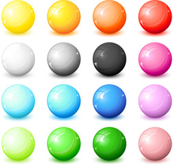 lot d'icones colorés
