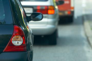 Bremslichter am Auto