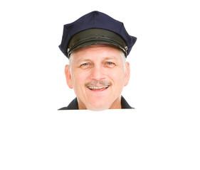 Police Head Happy
