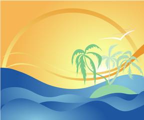 Tropical Summer Illustration