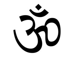 """""""Om"""" Symbol (with reflection)"""