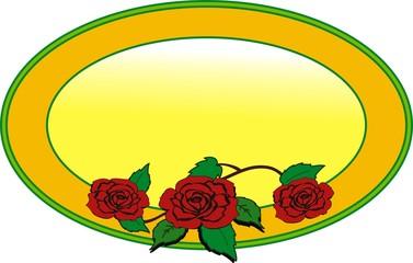 logo con rose