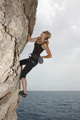 Klettern am Meer1