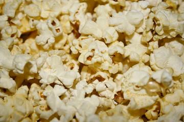 Inside popcorn
