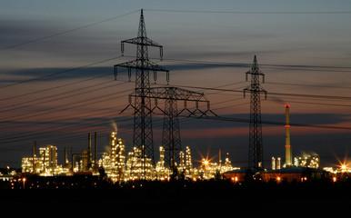 Industriegebiet_Sonnenaufgang