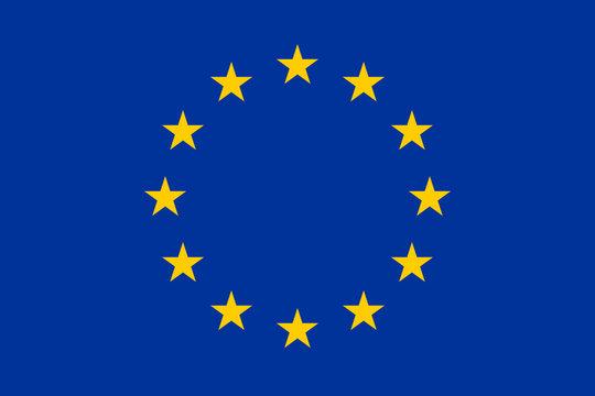 Drapeau européen officiel
