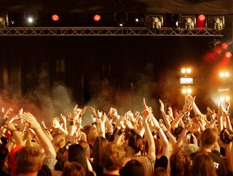 Konzertabendsonne