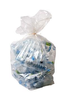 sac poubelle transparent