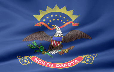 North Dakota Flagge