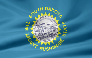 South Dakota Flagge