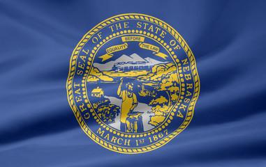 Nebraska Flagge