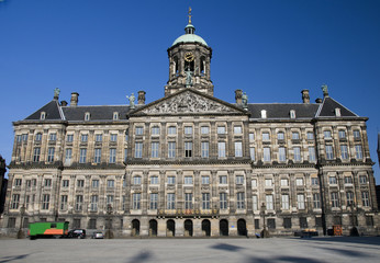 Canvas Prints Amsterdam royal palace dam square amsterdam holland