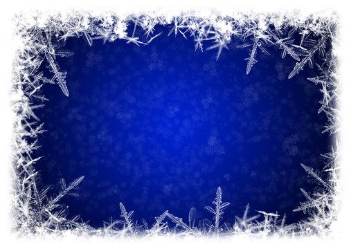 Iced frame