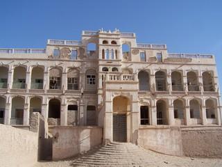 Palast in Tarim - Jemen