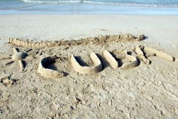 Cuba on the sand
