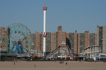 brooklyn,coney,island,new,york,