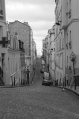 Frankreich, Paris: Einsame Gasse