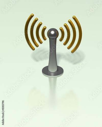 Wlan - Antenne - Symbol\