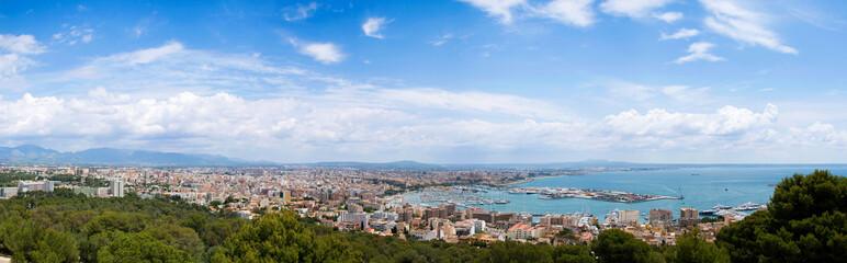 Palma de Mallorca panorama