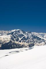 Summer mountains in Caucasus